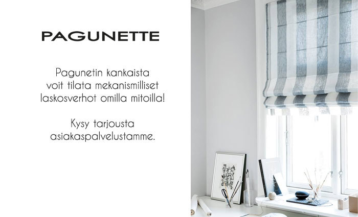 Pimentävä alutaustainen rullaverho, harmaa Verhokauppa.fi